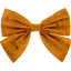 Bow tie hair slide gauze yellow  gold - PPMC