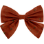 Barrette noeud papillon gaze terra cotta - PPMC