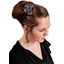 Bow tie hair slide grasses