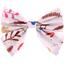 Bow tie hair slide herbier rose - PPMC
