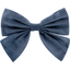 Bow tie hair slide light denim - PPMC