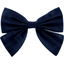 Bow tie hair slide navy blue - PPMC