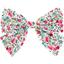 Barrette noeud papillon  roseraie - PPMC