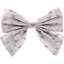 Bow tie hair slide triangle cuivré gris - PPMC