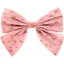 Bow tie hair slide powdered gold triangle - PPMC