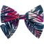 Bow tie hair slide tropical fire - PPMC