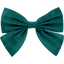 Bow tie hair slide emerald green - PPMC