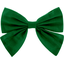 Bow tie hair slide bright green - PPMC