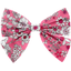 Bow tie hair slide pink violette - PPMC