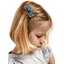 Small bow hair slide etoile argent jean