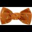 Pasador pequeño lazo caramelo dorado paja - PPMC