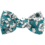 Small bow hair slide celadon violette - PPMC