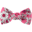 Small bow hair slide pink violette - PPMC