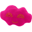 Cloud hair-clips fuschia - PPMC