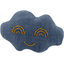 Cloud hair-clips light denim - PPMC