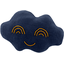 Cloud hair-clips navy blue - PPMC