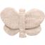 Barrette petit papillon  lin pailleté - PPMC