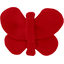 Barrette petit papillon rouge - PPMC