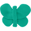 Butterfly hair clip green laurel