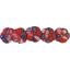 Japan flower hair slide-large size paprika petal - PPMC
