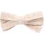 Ribbon bow hair slide  glitter linen - PPMC