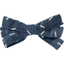 Ribbon bow hair slide silver straw jeans - PPMC
