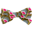 Ribbon bow hair slide palmette