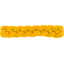 Plait hair slide yellow ochre - PPMC