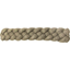 Plait hair slide gold linen - PPMC