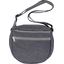 Base of small saddle bag silver gray