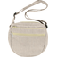 Base of small saddle bag silver linen - PPMC