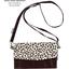Base of fashion wallet purse brown