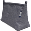Base of shoulder bag silver gray