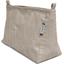 Base of shoulder bag silver linen - PPMC