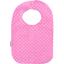 Babero para bebé  lunares rosas - PPMC