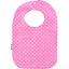 Bib - Baby size pink spots - PPMC