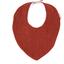 Bavoir bandana gaze lurex terracotta - PPMC