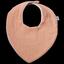 Bavoir bandana gaze rose - PPMC