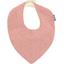 bandana bib mini pink flower - PPMC