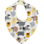 bandana bib yellow sheep - PPMC