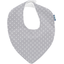 bandana bib light grey spots - PPMC