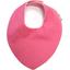 Bavoir bandana rose pailleté - PPMC