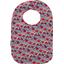 Bib - Baby size poppy - PPMC