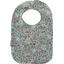 Babero para bebé  flor mentolada - PPMC