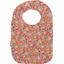 Bib - Baby size peach flower - PPMC