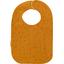 Babero para bebé  gasa de algodón amarillo dorado - PPMC