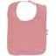 Bib - Baby size dusty pink lurex gauze - PPMC