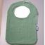 Bib - Baby size sage green gauze - PPMC