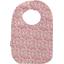 Babero para bebé  jazmín rosa - PPMC