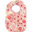 Babero para bebé  flores origamis - PPMC